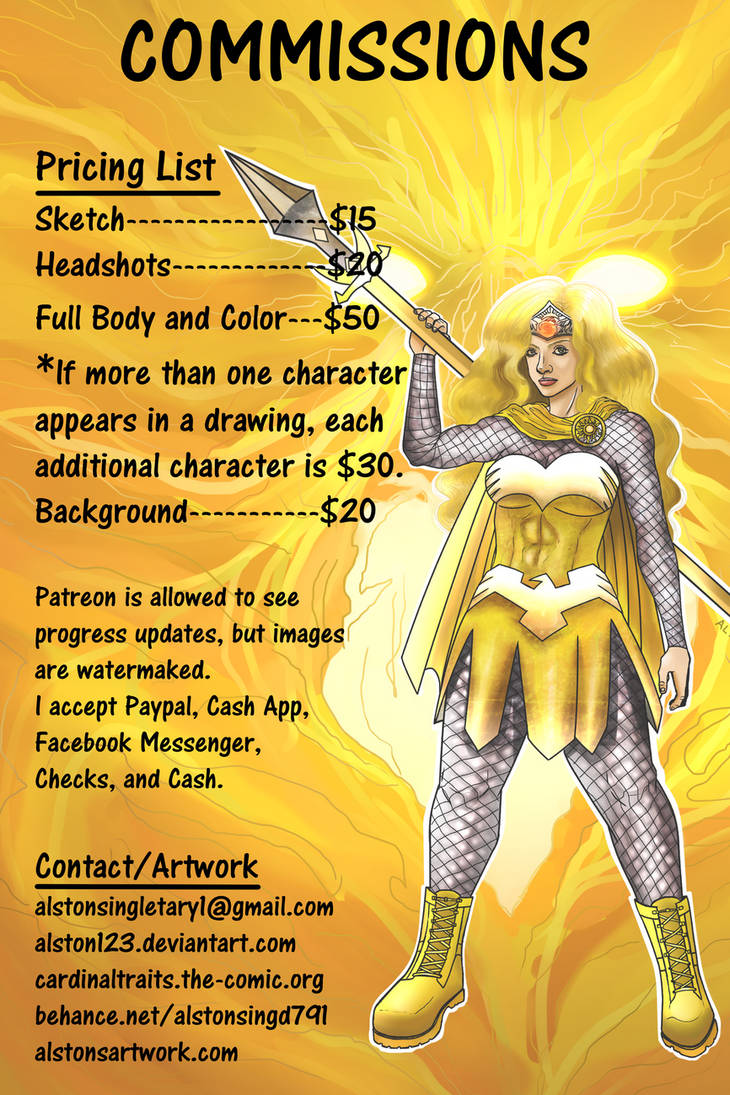 Commission Prices
