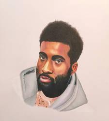 Self Portrait: Prismacolor Colored Pencil by alston123