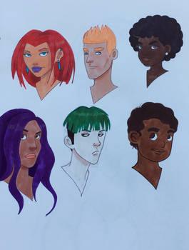 Sketchbook Character Design