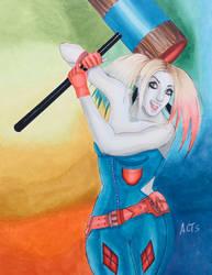 Harley Quinn swings her mallet