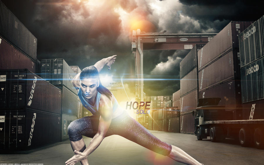 Hope Solo by LatinMind