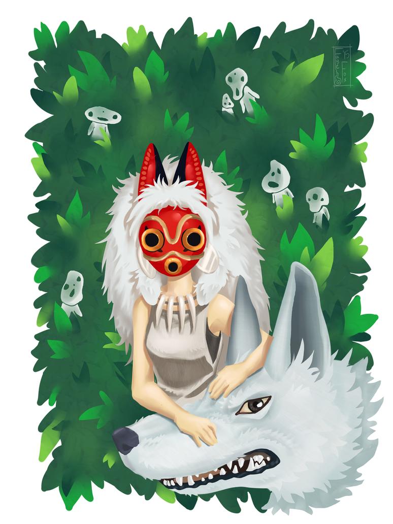 Princess Mononoke by Faye-Fox