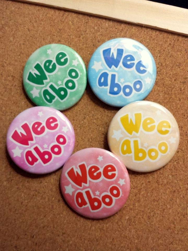 Weeaboo Buttons! by Faye-Fox