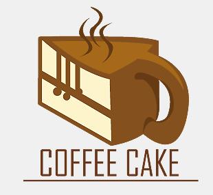 Cake Art Logo : Coffee Cake Logo 2 by dbkit on DeviantArt