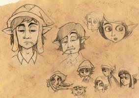 Kletschmore scribbles by Asiaglocke