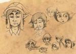 Kletschmore scribbles