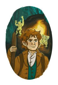 Illustration of Bilbo Baggins