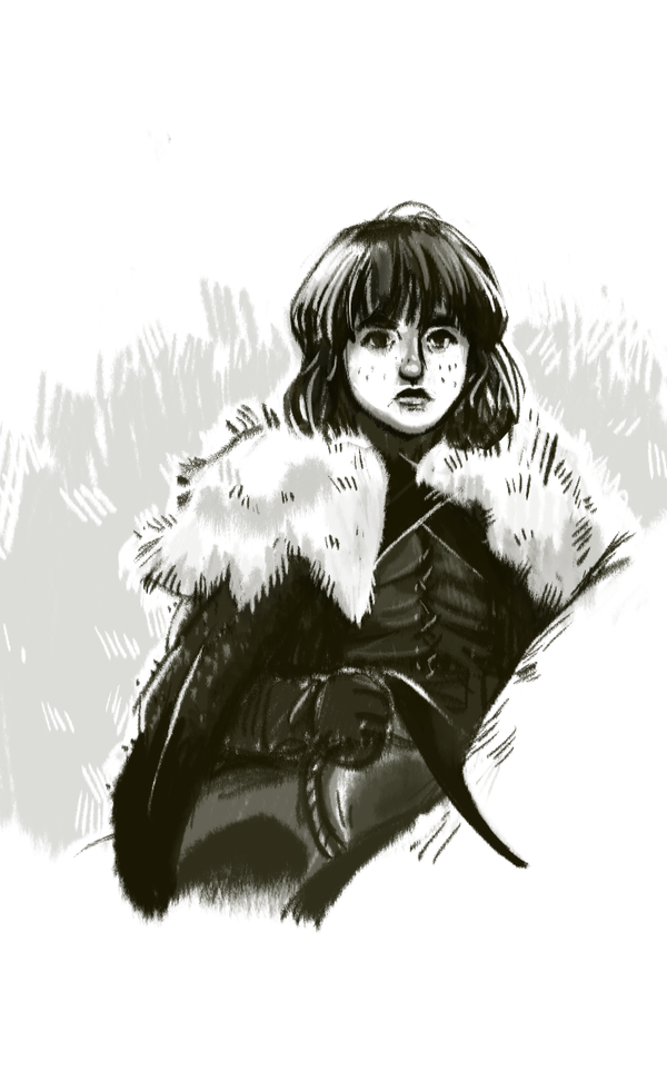 Bran Stark by Asiaglocke