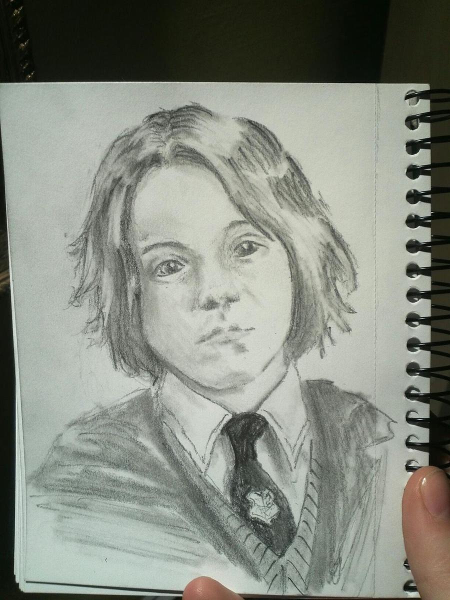 HP: Severus Snape by ariizu-ichigo