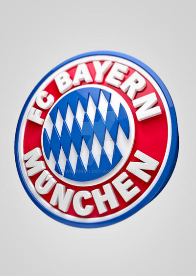 bayern logo 3d