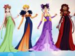 GKG Outer Senshi: Princess Forms
