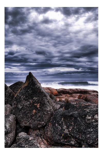 A Pointy Tassie Rock by dakotapearl