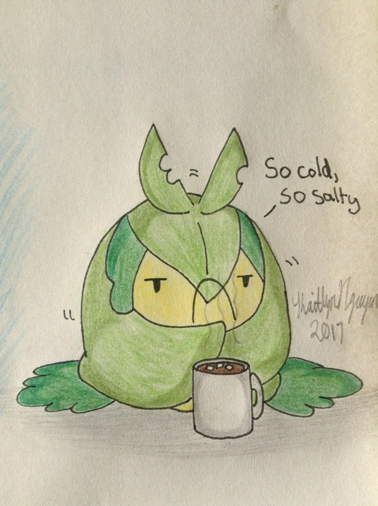 Shivering and salty Swadloon by bestsk8eva