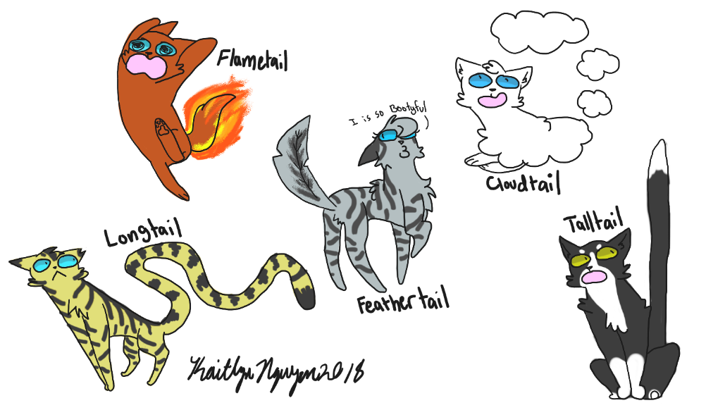 Warriors Cats Names Taken Literally by iycewing on DeviantArt