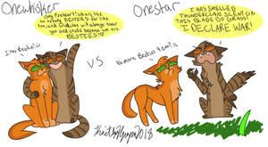 Onewhisker vs Onestar