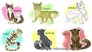 Chibi Warriors Cats 2