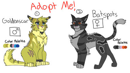 (CLOSED) Warriors Villain Adopts by iycewing