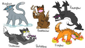 Warriors Cats names Taken Literally 10