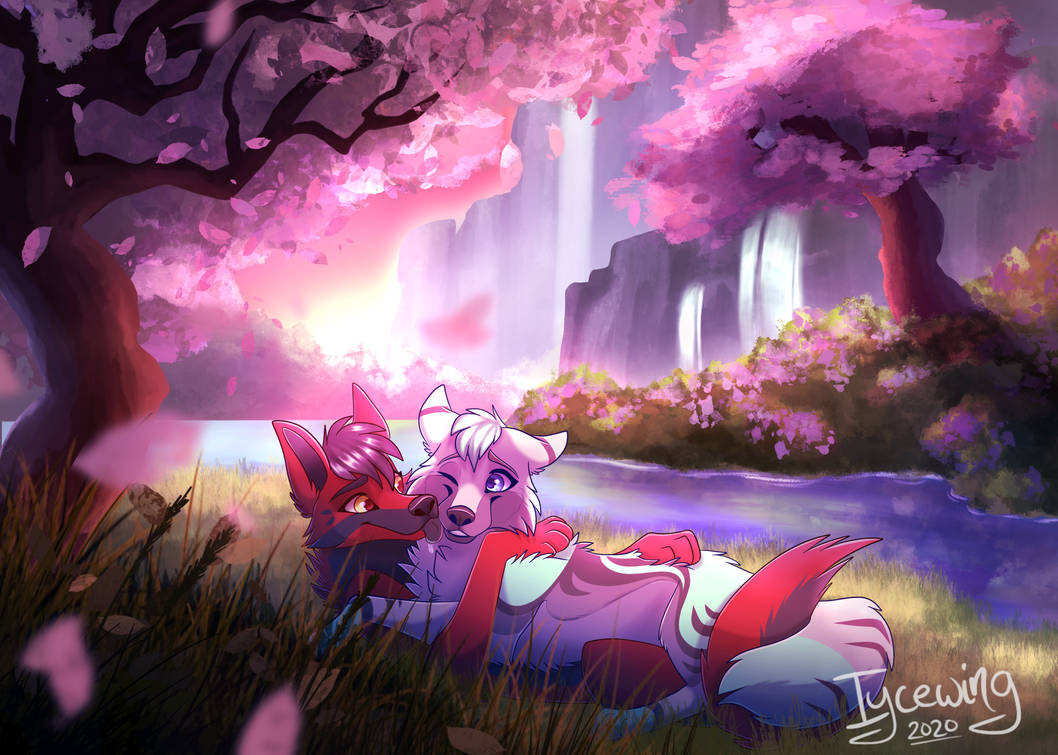 Forest Lovers by iycewing