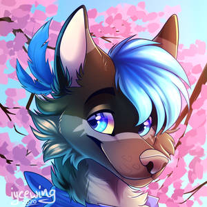 Shizuki Icon Commission fin by iycewing