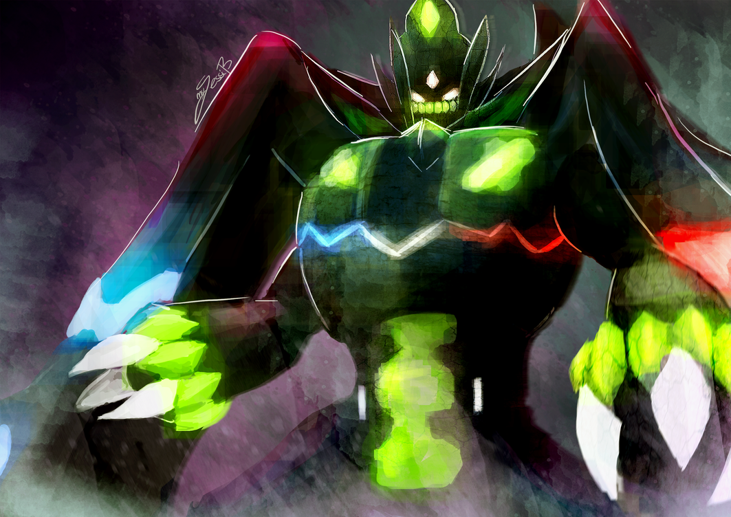 Zygarde Perfect Form By Takugirl On Deviantart