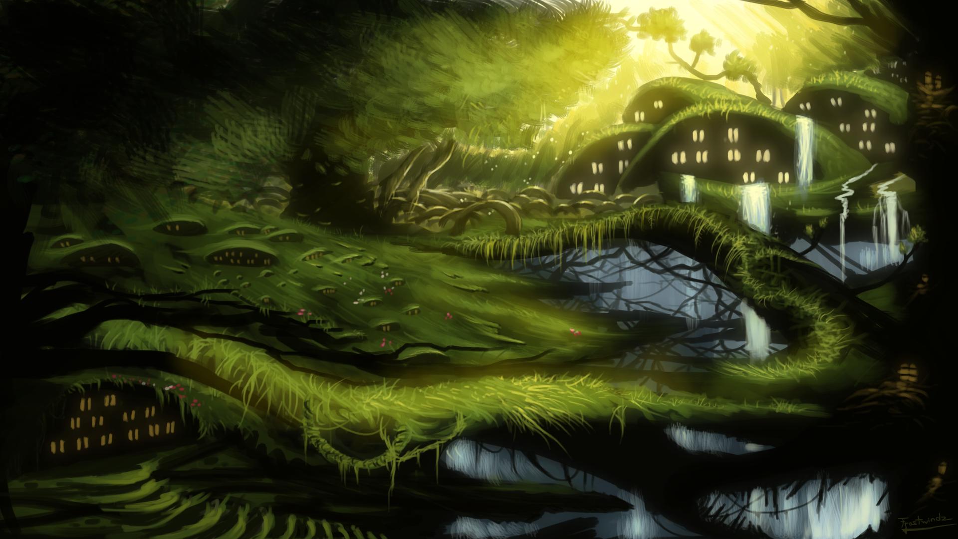 dragon landscape scenic wallpaper - photo #34