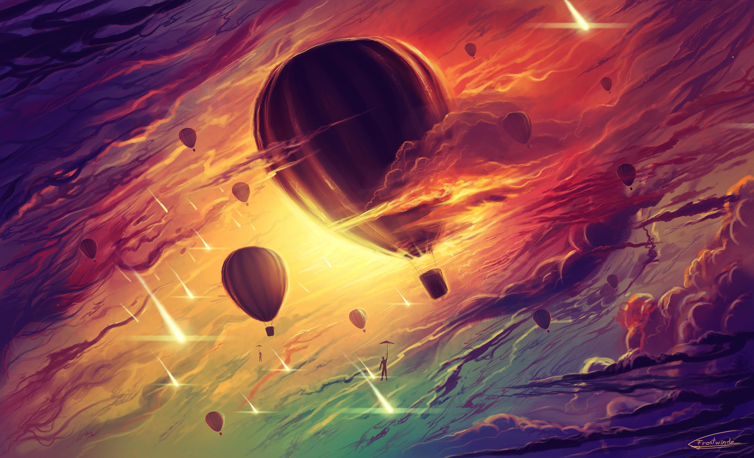 Deviantart: Hot Air Balloons By Frostwindz On DeviantArt