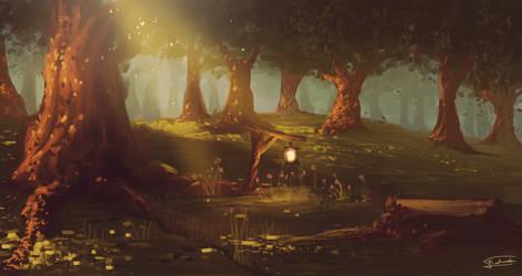Forest by Frostwindz