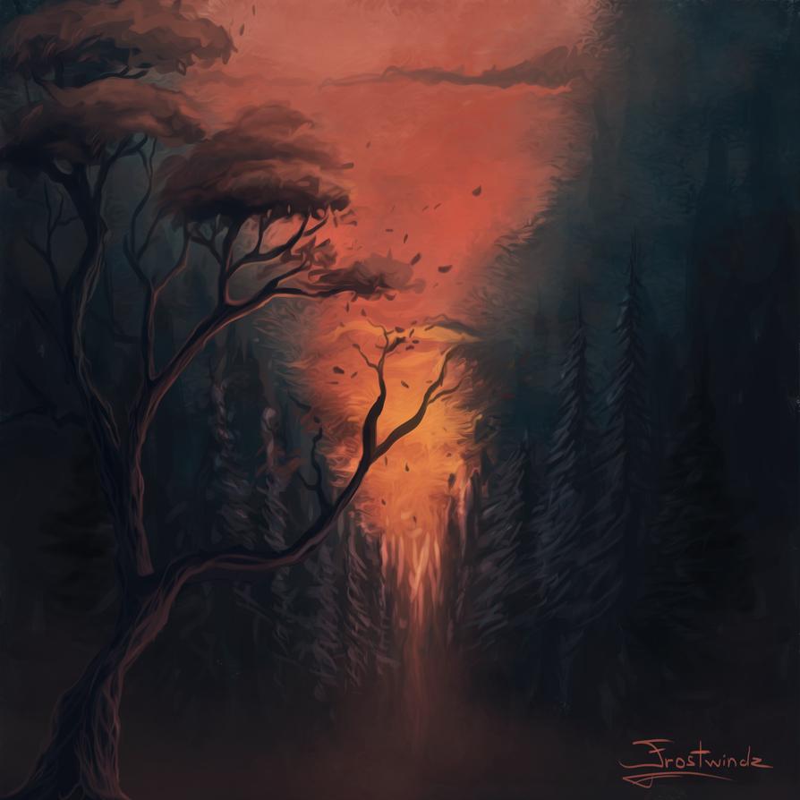 Thru the Forest by Frostwindz