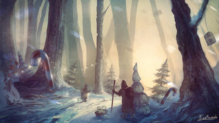 A Winter Journey by Frostwindz