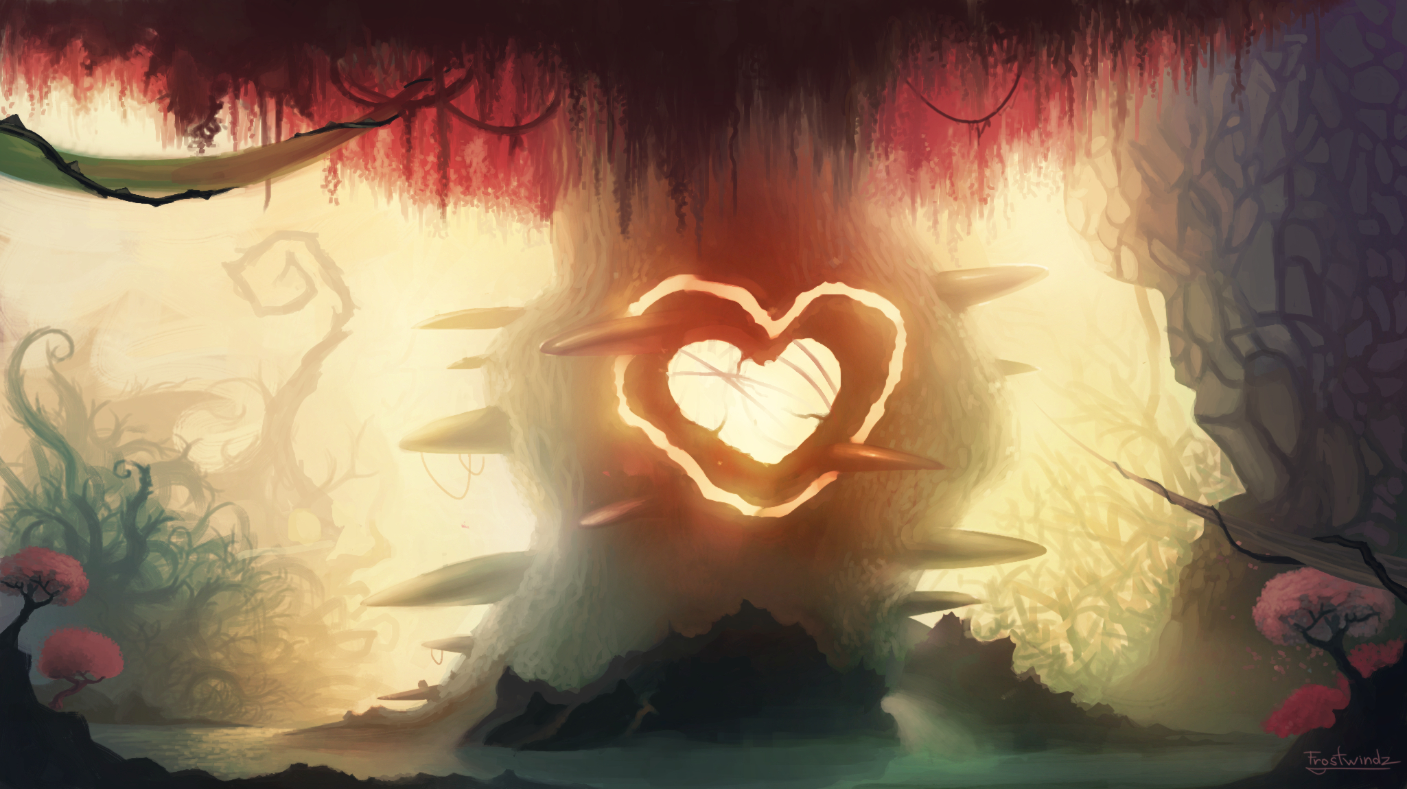 Heart of The Forest by Frostwindz