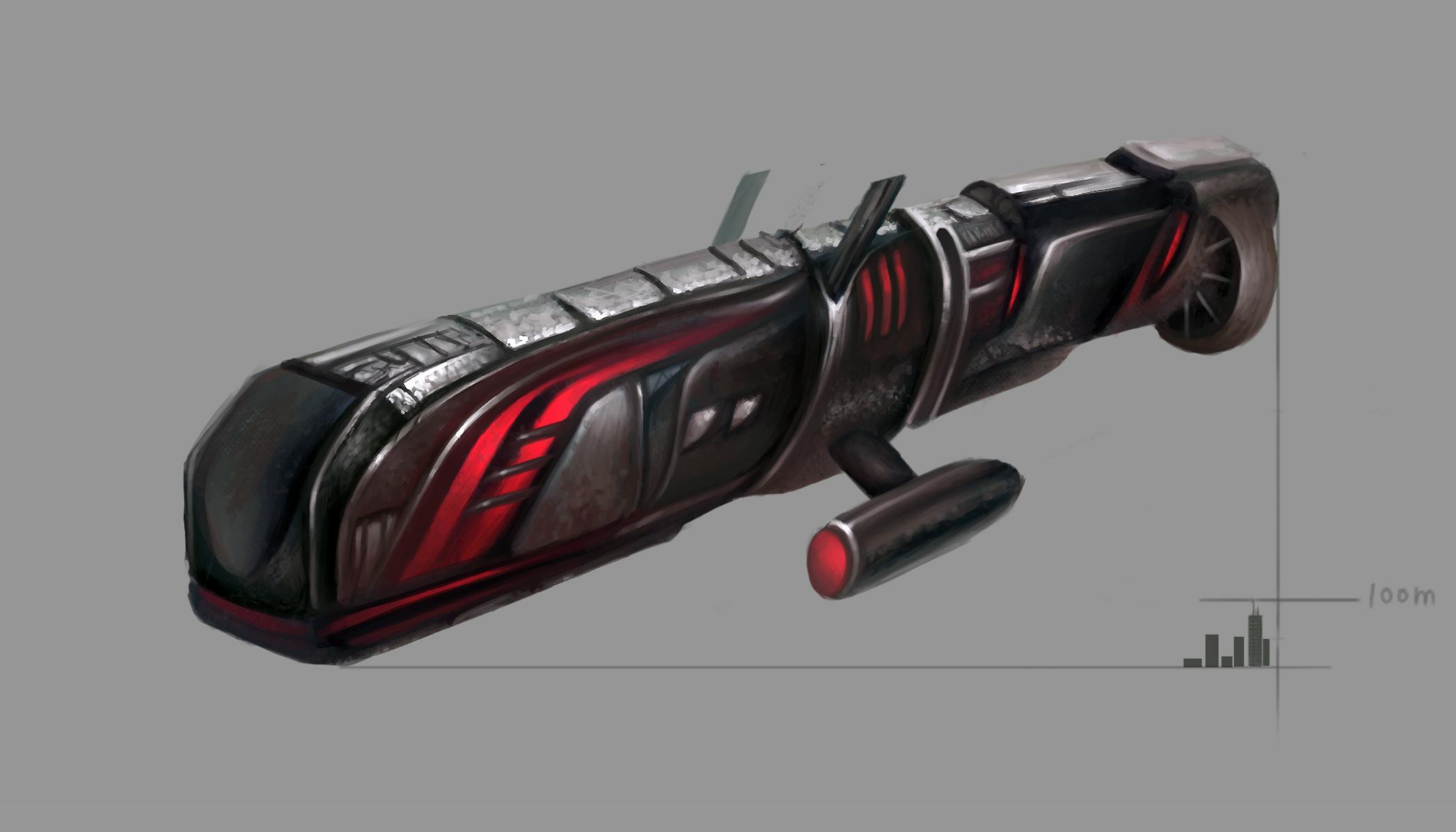 scifi spaceship concept art 1 by frostwindz on deviantart