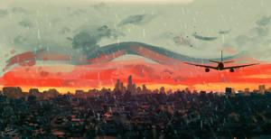 Sunset - Sketch