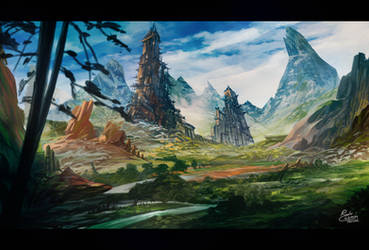 Environment Concept by Frostwindz