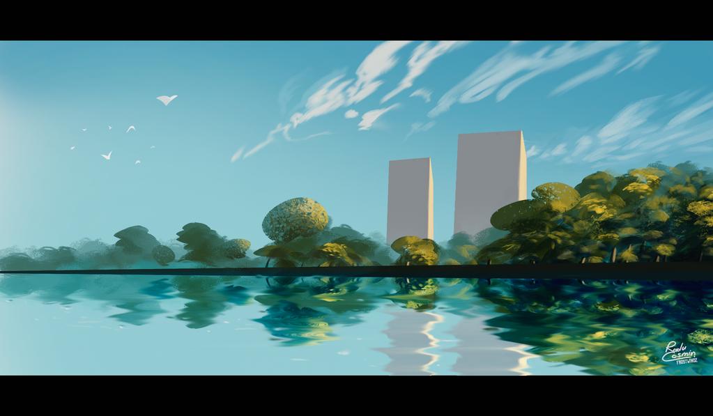 City Lake by Frostwindz