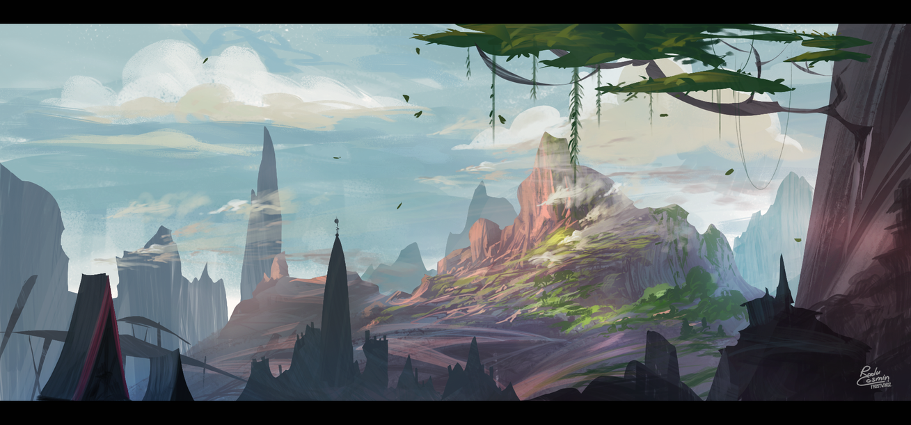 Environment Practice by Frostwindz