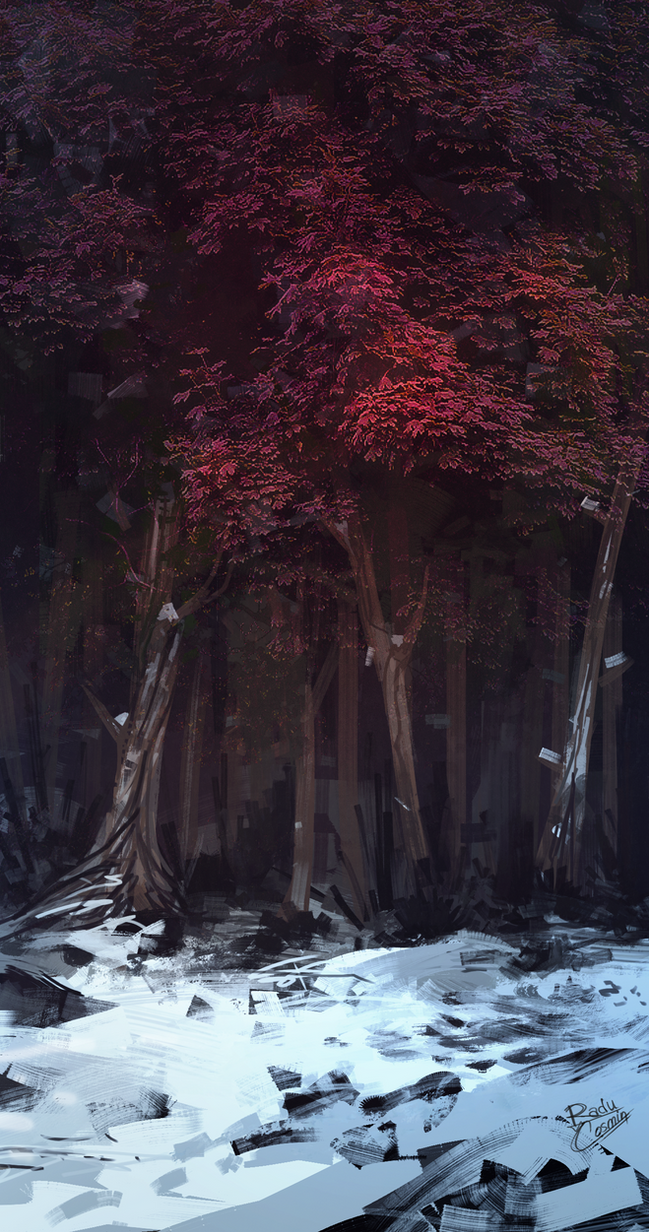 Forest by Frostwindz