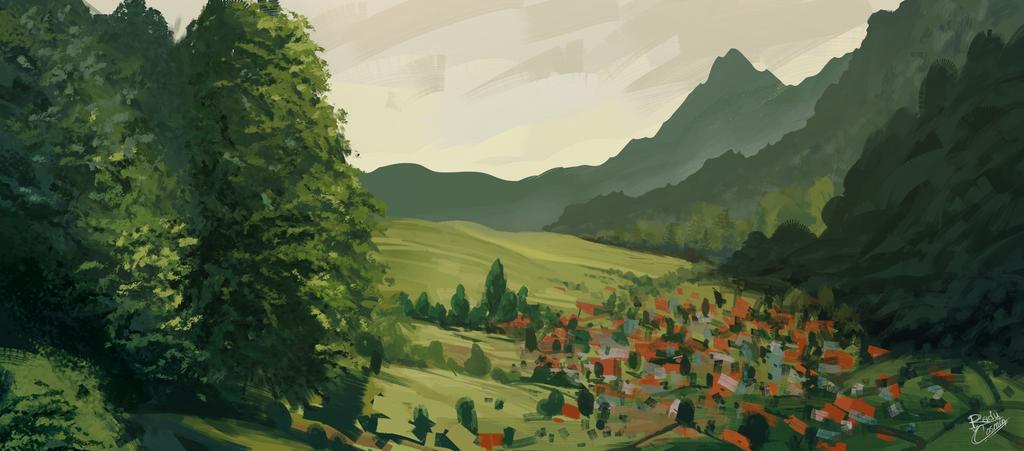 Village by Frostwindz