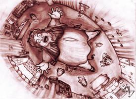 (1 - Prisoner of Azkaban) - Uncle Marge Balloon by Ottowl