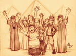 3- The Weasley Family in Egypt