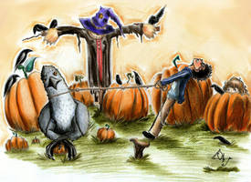 Buckbeak... Hurry up!!! by Ottowl