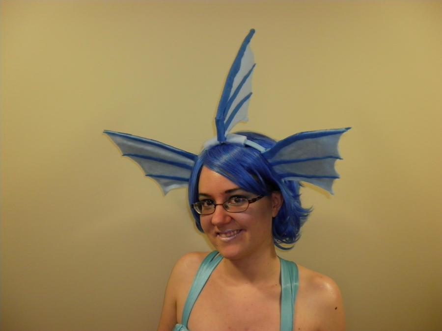 Vaporeon Cosplay Ears Vaporeon cosplay by