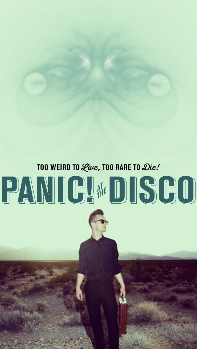 Panic! at the Disco iPhone Wallpaper by niyun34 on DeviantArt