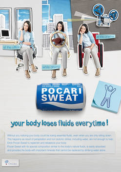 Pocari Sweat UAE 2011 print-ad