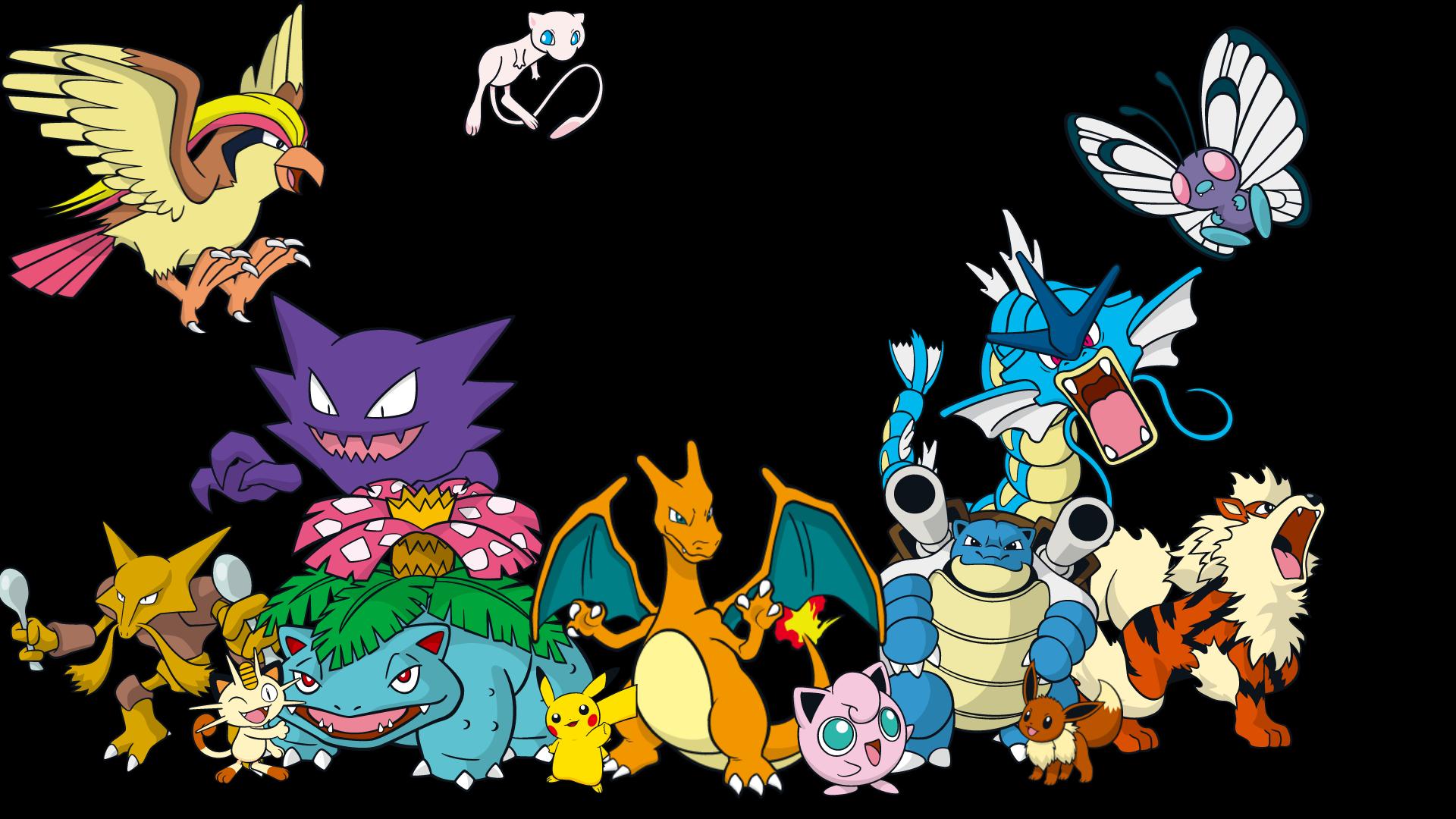 Все картинки покемонов всех поколениях