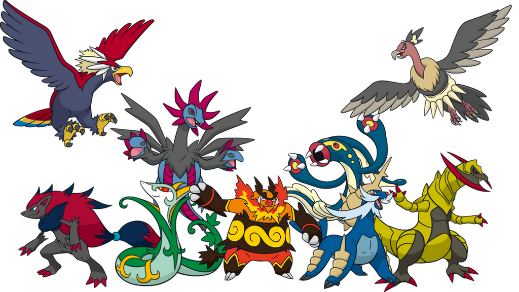 Pokemon 5. Generation