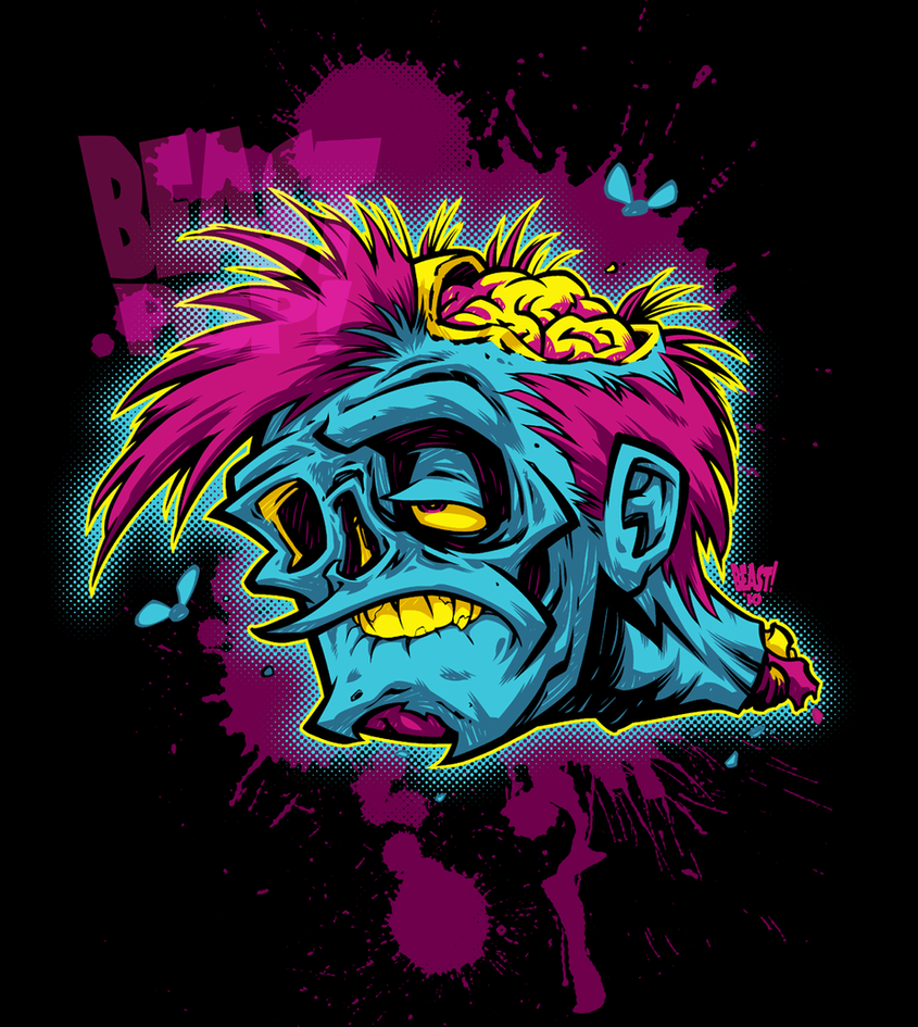 POP-ZOMBIE by pop-monkey