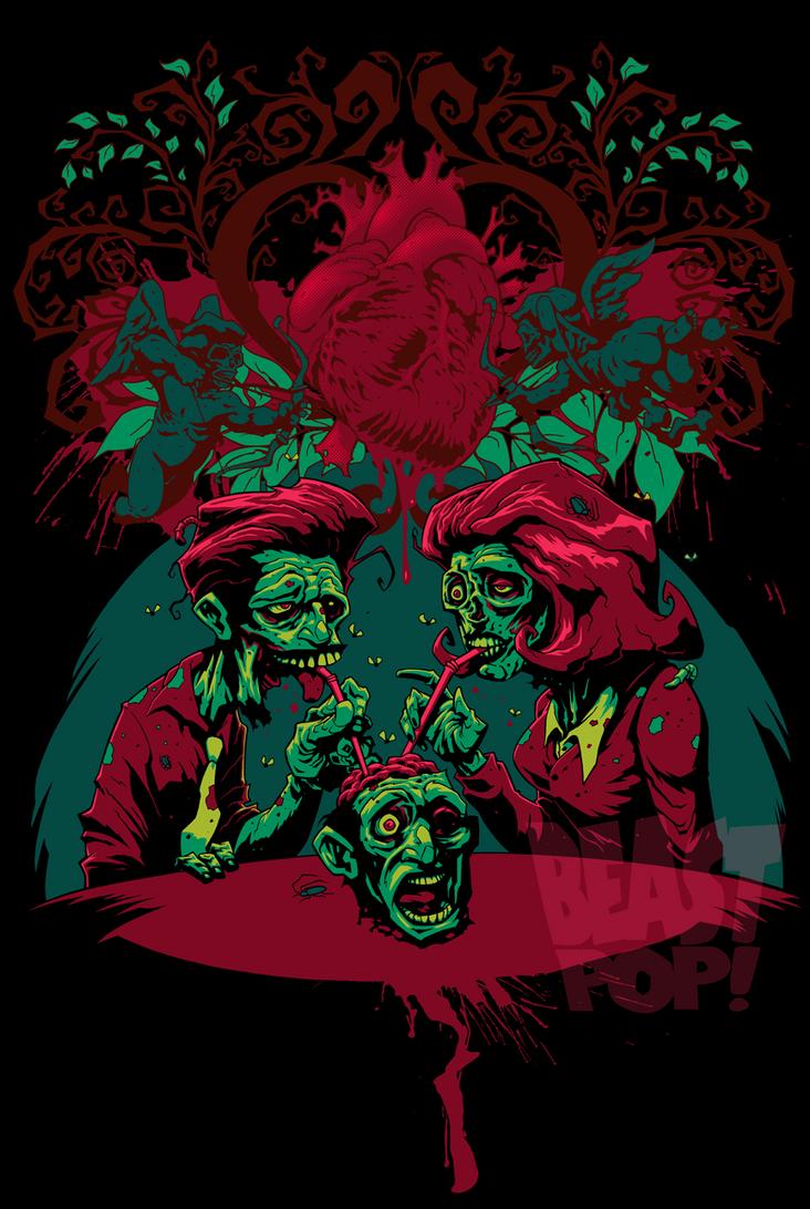 ZOMBIE LOVE alternate colors 2 by pop-monkey