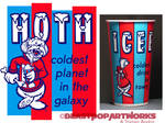 HOTH: COLDEST IN THE GALAXY T-shirt colors
