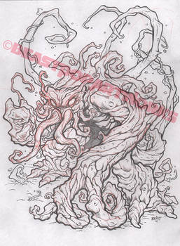 INHUMANOIDS: TENDRIL pencils